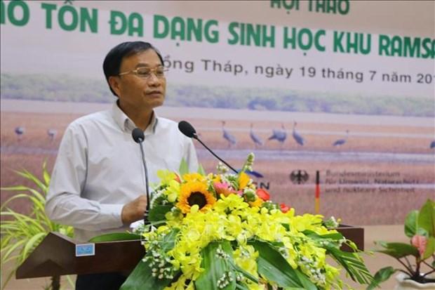 Des solutions efficaces pour conserver la biodiversite dans le Parc national de Tram Chim hinh anh 1