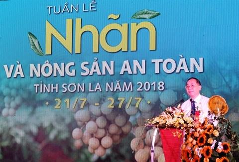 Les longanes de Son La a l'honneur a Hanoi hinh anh 1