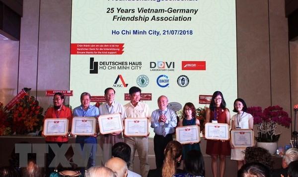 L'Association d'amitie Vietnam-Allemagne a HCM-Ville contribue aux relations entre les deux pays hinh anh 1