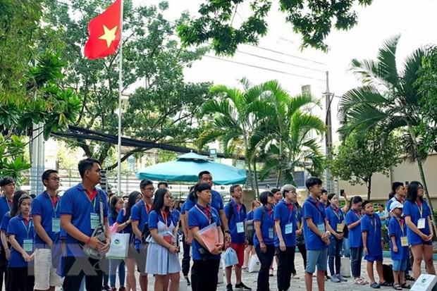 Ho Chi Minh-Ville: Ouverture de la colonie de vacances d'ete des jeunes Viet Kieu 2018 hinh anh 1