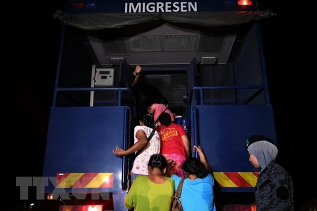 La Malaisie intensifiera ses operations contre les immigrants illegaux hinh anh 1