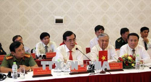Quang Tri et Saravane (Laos) renforcent leur cooperation dans plusieurs domaines hinh anh 1