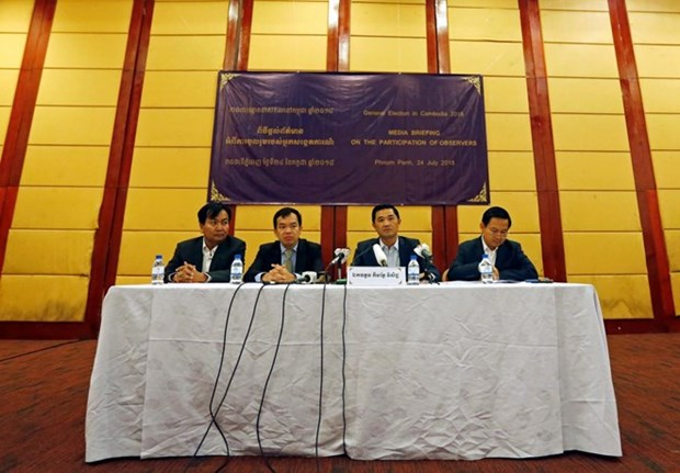 Cambodge: 220 observateurs internationaux surveilleront les elections hinh anh 1