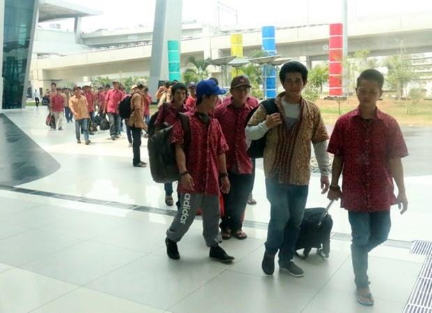 L'Indonesie rapatrie 42 pecheurs vietnamiens hinh anh 1