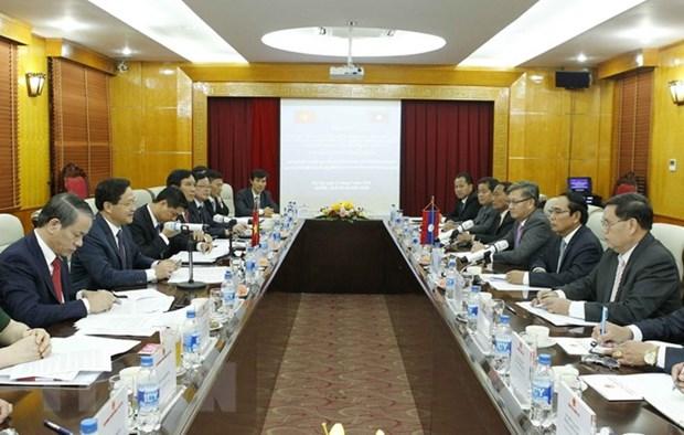 Le PM plaide pour la cooperation entre les Inspections gouvernementales Vietnam-Laos hinh anh 2