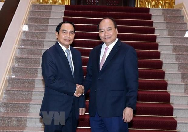 Le PM plaide pour la cooperation entre les Inspections gouvernementales Vietnam-Laos hinh anh 1