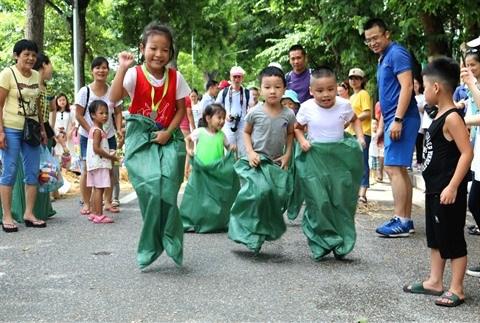 Espace de jeu pour enfants au cœur de Hanoi hinh anh 1