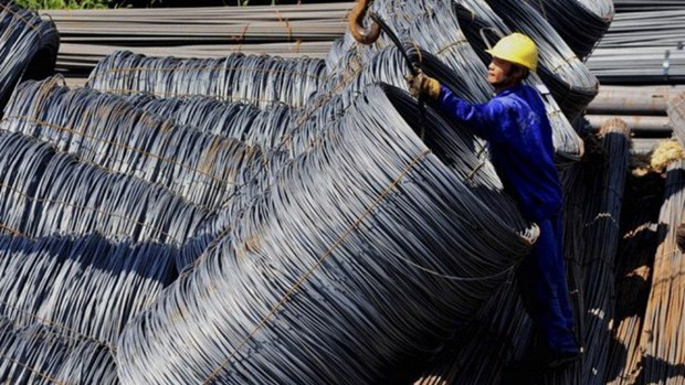 Acier: forte hausse des exportations au 1er semestre hinh anh 1