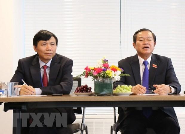 Le vice-president de l'AN Do Ba Ty termine sa visite aux Etats-Unis hinh anh 1