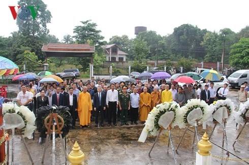 La 71e Journee des invalides de guerre et des martyrs celebree au Laos hinh anh 1