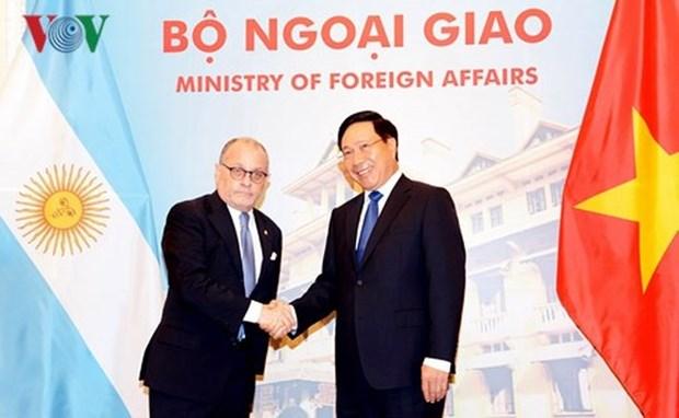 Dynamiser la cooperation Vietnam – Argentine hinh anh 1