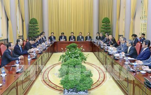 Vietnam-Japon : volonte commune d'approfondir les relations economiques hinh anh 1