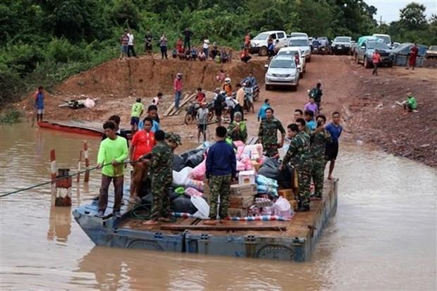 Barrage effondre au Laos : la Thailande appelle ses citoyens a aider les victimes hinh anh 1