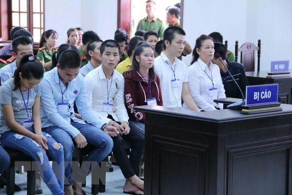 Dong Nai : Des peines severes contre 20 personnes accusees de trouble a l'ordre public hinh anh 1