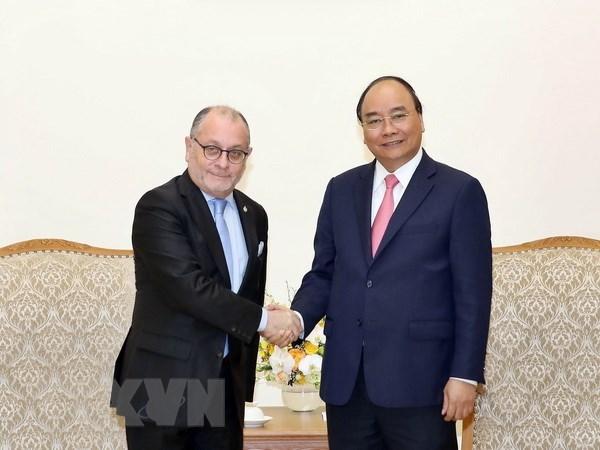 Le PM Nguyen Xuan Phuc recoit le ministre argentin des AE et du Culte Jorge Faurie hinh anh 1