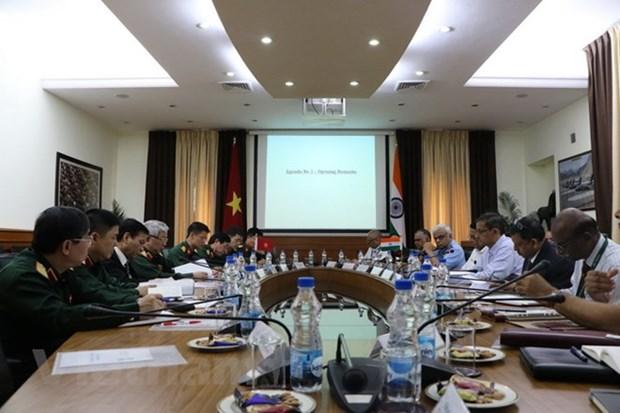Le 11e dialogue sur la politique de la defense Vietnam-Inde hinh anh 1