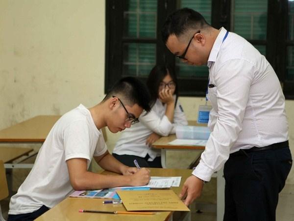 Scandale du baccalaureat a Hoa Binh : ouverture d'une procedure penale hinh anh 1