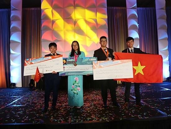 Championnats mondiaux de l'informatique et de design : le Vietnam remporte trois bronzes hinh anh 1