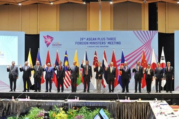 Le vice-PM Pham Binh Minh participe a des reunions liees a l'AMM-51 hinh anh 1
