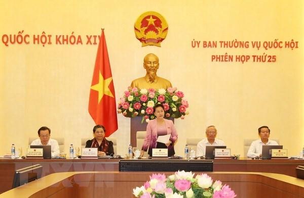 La 26e session du Comite permanent de l'AN aura lieu du 8 au 13 aout hinh anh 1
