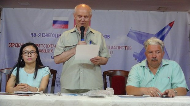 Reunion des russes veterans de la guerre du Vietnam a Moscou hinh anh 1