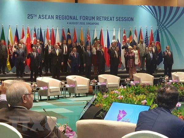 L'ARF souligne l'importance de la non-militarisation en Mer Orientale hinh anh 1
