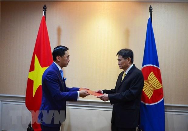Le Vietnam est pret a cooperer pour developper la Communaute de l'ASEAN hinh anh 1