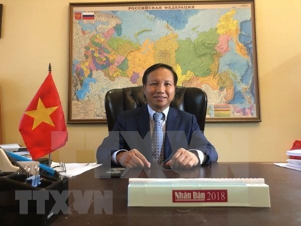Les relations Vietnam-Russie sont un bien precieux des deux peuples hinh anh 1