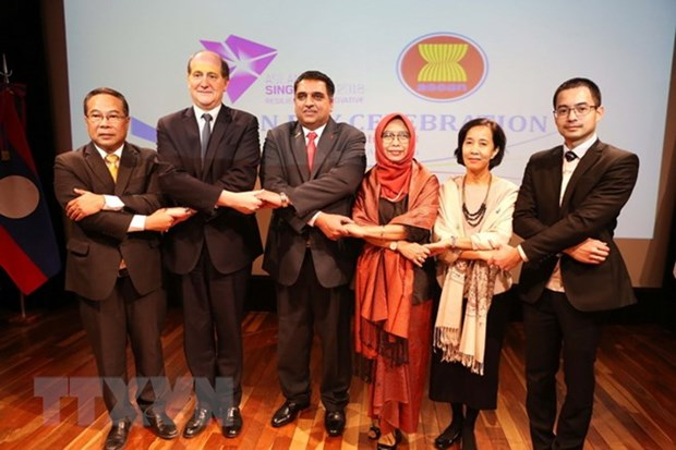 Celebration du 51e anniversaire de la fondation de l'ASEAN en Argentine hinh anh 1
