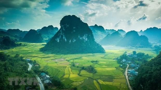 Geoparc mondial : Cao Bang recoit une delegation de l'UNESCO hinh anh 1