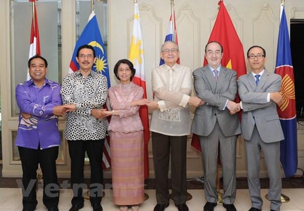 Le 51e anniversaire de la fondation de l'ASEAN celebre au Mexique hinh anh 1