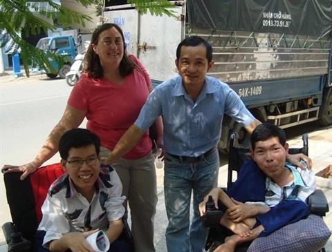 Une Americaine au chevet des victimes vietnamiennes de la dioxine hinh anh 2