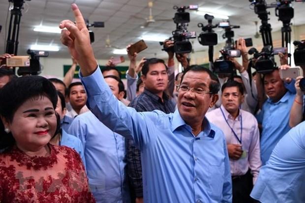 Le PM thailandais congratule le Cambodge pour les elections reussies hinh anh 1