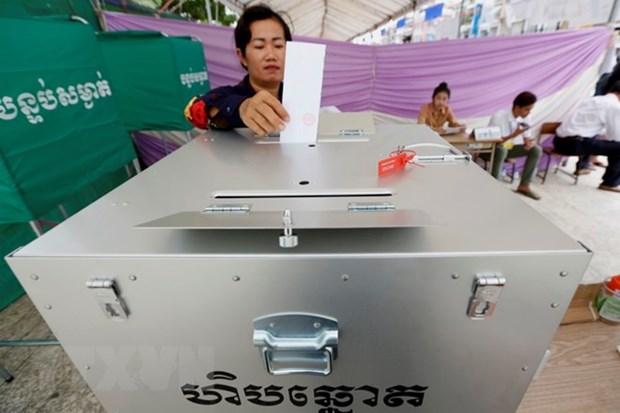 Le Cambodge publie les resultats provisoires des elections legislatives hinh anh 1