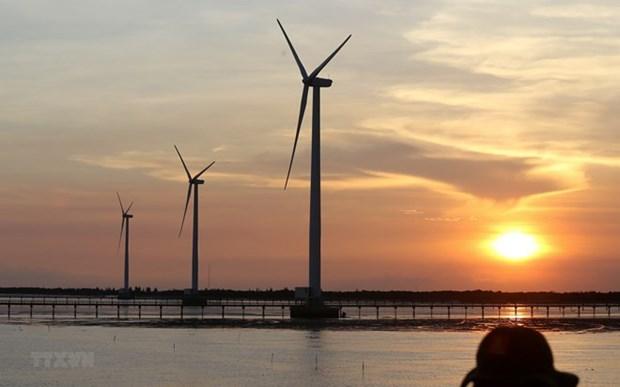 Tra Vinh : construction d'un parc eolien de plus de 140 millions de dollars hinh anh 1