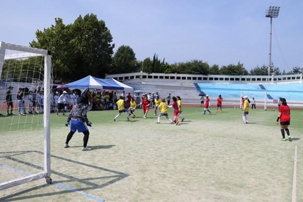 Le 11e Congres sportif des etudiants vietnamiens en Republique de Coree hinh anh 1