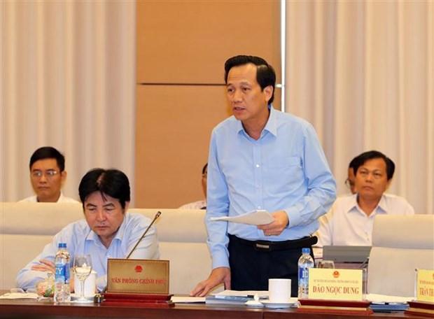 Politiques, formation emploi des minorites ethniques au menu des legislateurs hinh anh 3