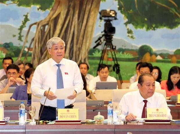 Politiques, formation emploi des minorites ethniques au menu des legislateurs hinh anh 1