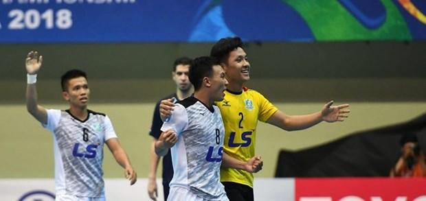 Championnat des clubs de futsal d'Asie 2018 : Thai Son Nam finit 2e hinh anh 1
