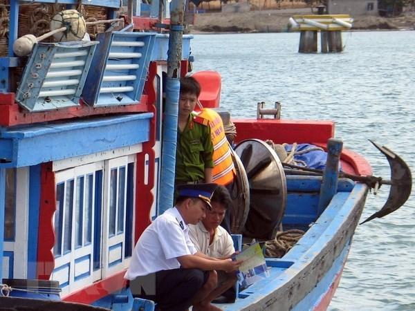 Mise en œuvre de la loi de peche dans les provinces cotieres meridionales du Centre hinh anh 1