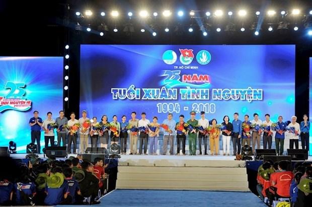 Le volontariat contribue au developpement socio-economique de Ho Chi Minh-Ville  hinh anh 1