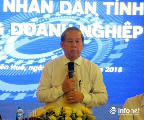 Thua Thien-Hue s'engage a soutenir les entreprises hinh anh 1