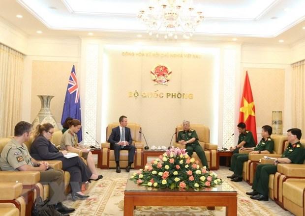 Cooperation Vietnam-Australie en matiere de defense hinh anh 1