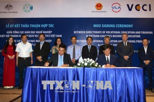 Cooperation Vietnam-Australie dans la formation professionnelle en logistique hinh anh 1