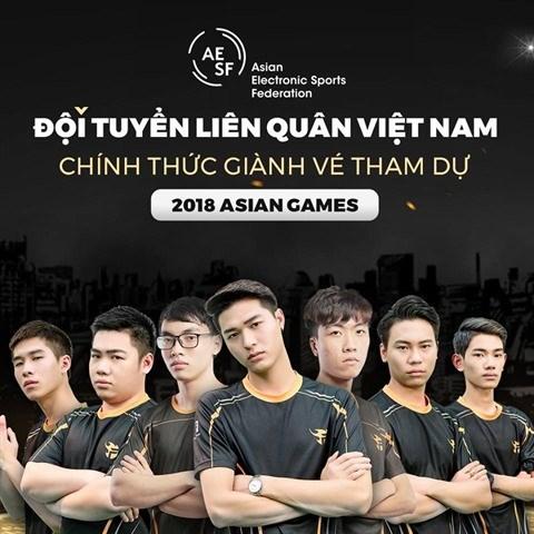ASIAD 18: L'equipe des sports electroniques prete pour les Jeux asiatiques hinh anh 1