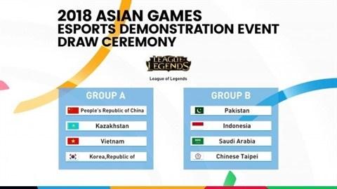 ASIAD 18: L'equipe des sports electroniques prete pour les Jeux asiatiques hinh anh 2