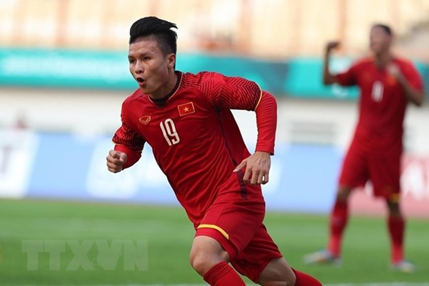 ASIAD 2018: le media international salue l'equipe olympique de football du Vietnam hinh anh 1