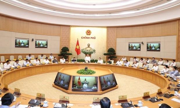 Reunion gouvernementale thematique sur la construction institutionnelle hinh anh 1