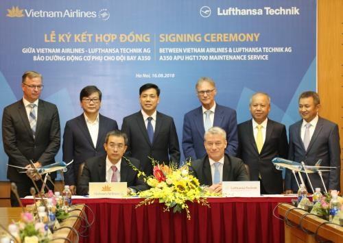 Lufthansa Technik AG fournira des services a Vietnam Airlines hinh anh 1