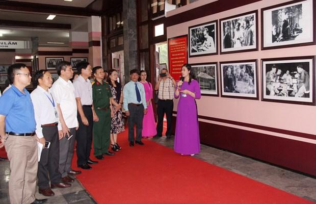 Une exposition sur le general Vo Nguyen Giap et l'ATK de Thai Nguyen hinh anh 1